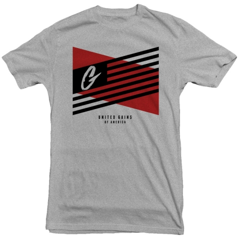 United Gains - Flag Tee