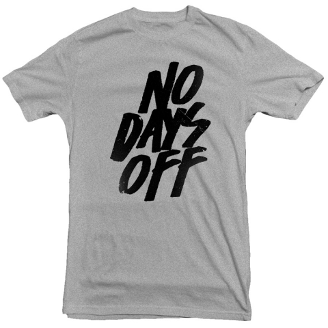 United Gains - No Days Off Tee