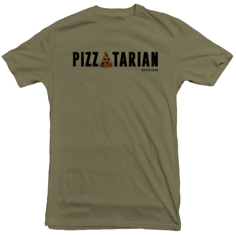 United Gains - Pizzatarian Tee