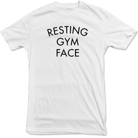 United Gains - Resting Gym Face Tee